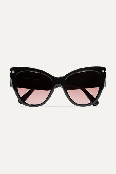 7a69b646a8 Valentino Cat-eye Acetate Sunglasses