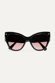 Valentino Valentino cat-eye acetate sunglasses