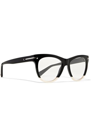 9d4ee0747b2 Valentino | Valentino Garavani two-tone acetate cat-eye optical ...