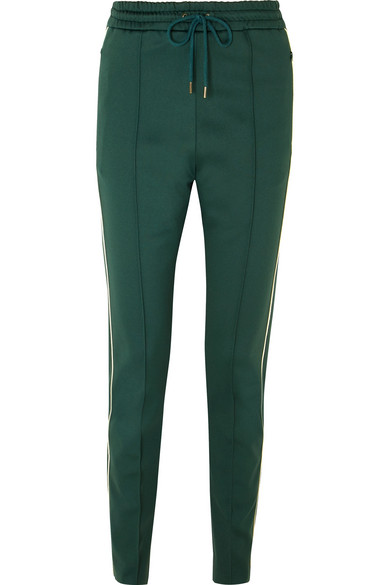 Joseph - Tech-jersey Track Pants - Dark green