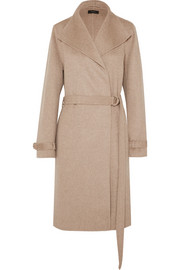 Joseph Lima belted wool and cashmere-blend coat