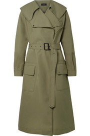 Damon Trenchcoat aus Baumwoll-Gabardine in Oversized-Passform