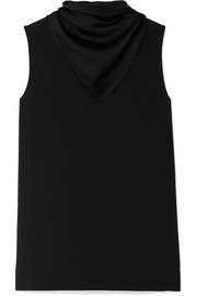 Joseph Pearce draped crepe top