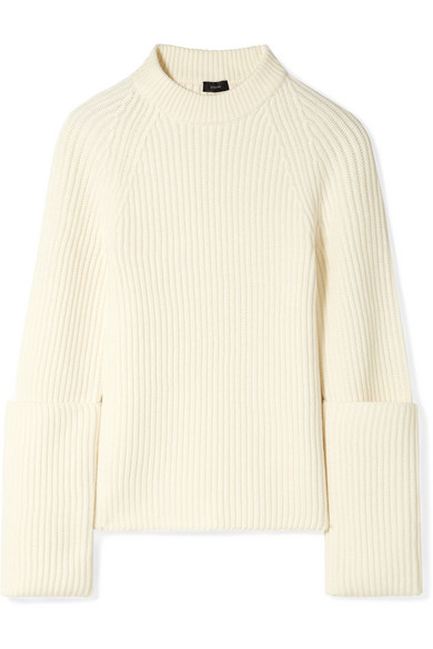 Ribbed Merino Wool Sweater by Joseph