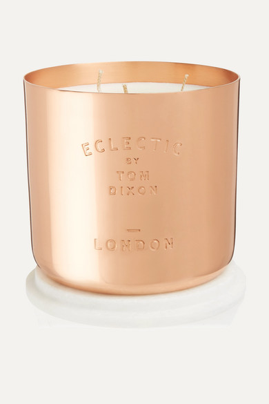 TOM DIXON Eclectic London Scented Candle, 540G in Colorless