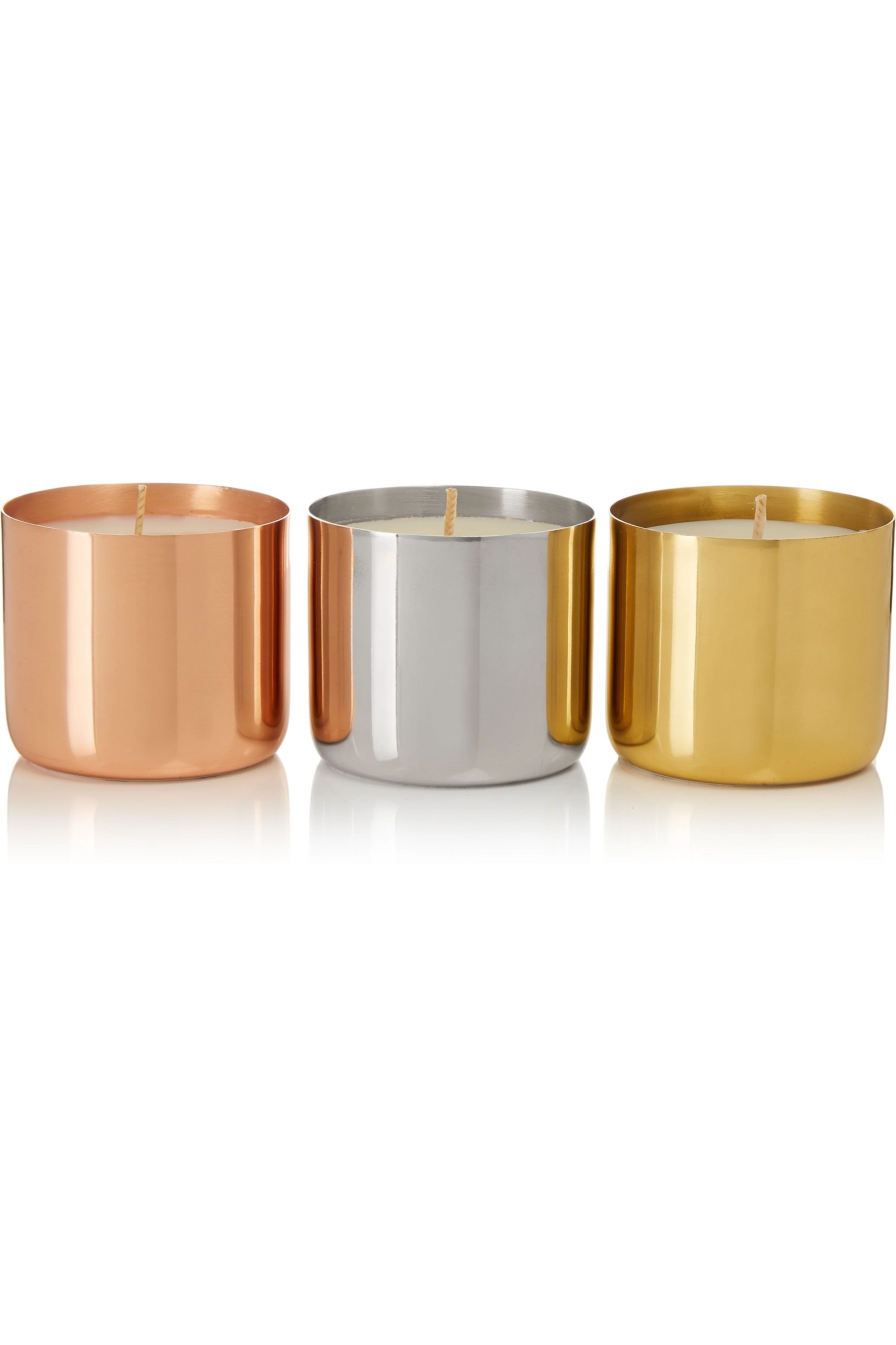 Tom Dixon London, Orientalist and Royalty set of three candles, 3 x 120g