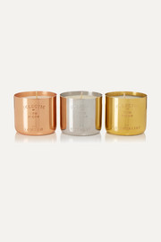London, Orientalist and Royalty set of three candles, 3 x 120g