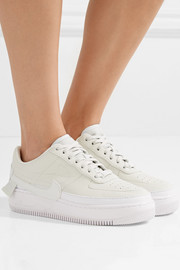 The 1 Reimagined Air Force 1 Jester XX textured-leather platform sneakers