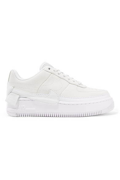 Nike The 1 Reimagined Air Force 1 Jester XX Plateau-Sneakers aus strukturiertem Leder
