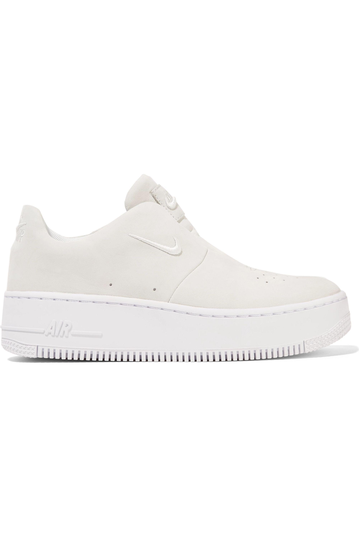 Sage suede slip-on sneakers | Nike
