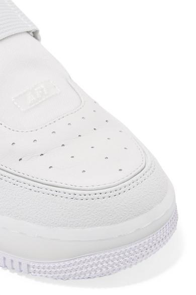 Nike The 1 Reimagined Air Force 1 Explorer XX Sneakers aus Veloursleder und Leder