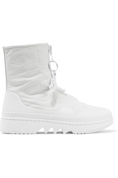 Nike | The 1 Reimagined Air Jordan 1 Jester leather high-top sneakers |  NET-A-PORTER.COM