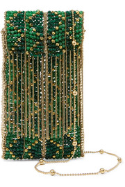 Dakota beaded clutch