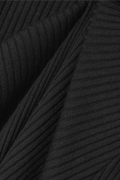 Marques' Almeida Maxikleid aus Merinowolle in Rippstrick mit Cut-outs Rabatt-Spielraum Store Günstig Kaufen Verkauf Genießen Online-Verkauf rxbpQp2V