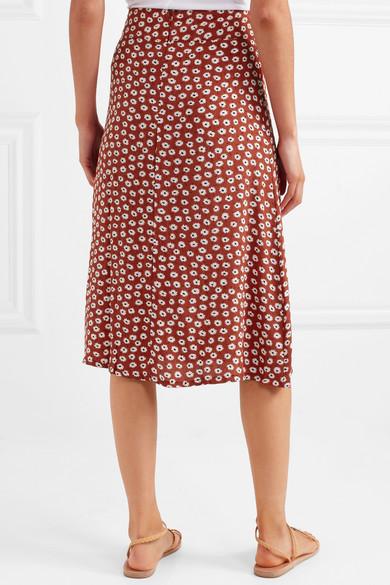 2c84486d97 Faithfull The Brand | Joy floral-print crepe midi skirt | NET-A ...