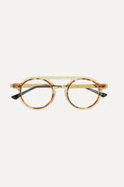 Thierry Lasry Flimsy tortoiseshell acetate round-frame optical glasses