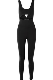Cutout stretch-Supplex bodysuit