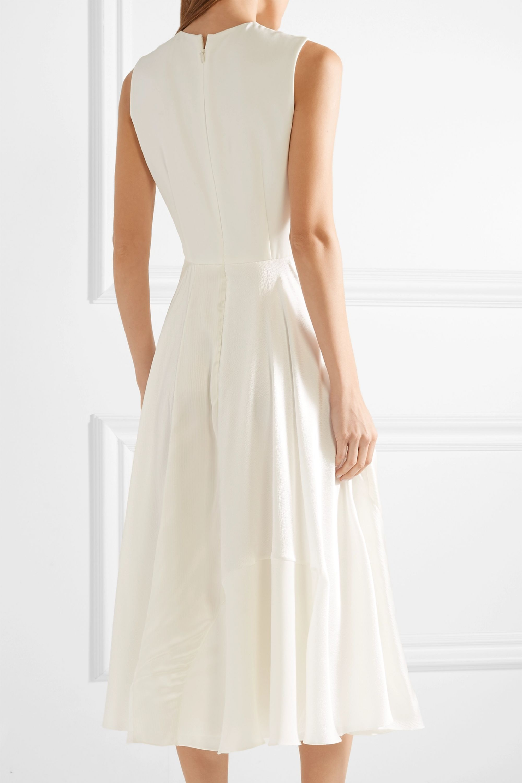 Roksanda Keanu silk-crepe and faille midi dress