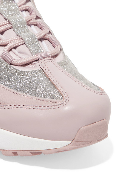 grossiste b8805 1e125 Air Max 95 glittered leather and suede sneakers