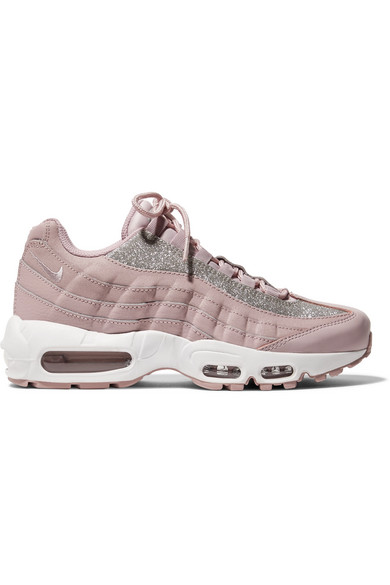 grossiste 34b18 d1513 Air Max 95 glittered leather and suede sneakers
