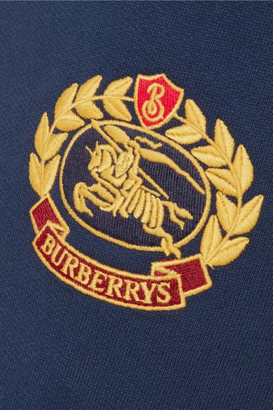 Burberry Jogginghose aus Jersey aus einer Baumwollmischung mit Stickerei