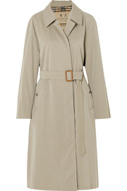 Burberry The Brighton cotton-gabardine trench coat