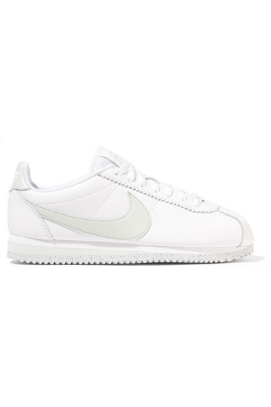 Classic Cortez Leather Sneakers in White