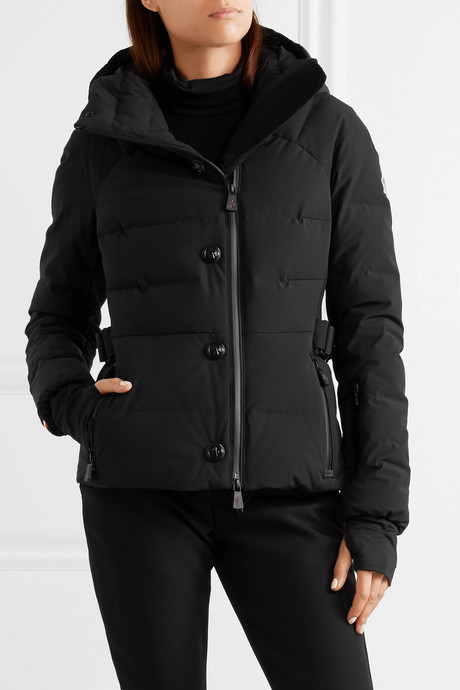 Guyana quilted shell down jacket