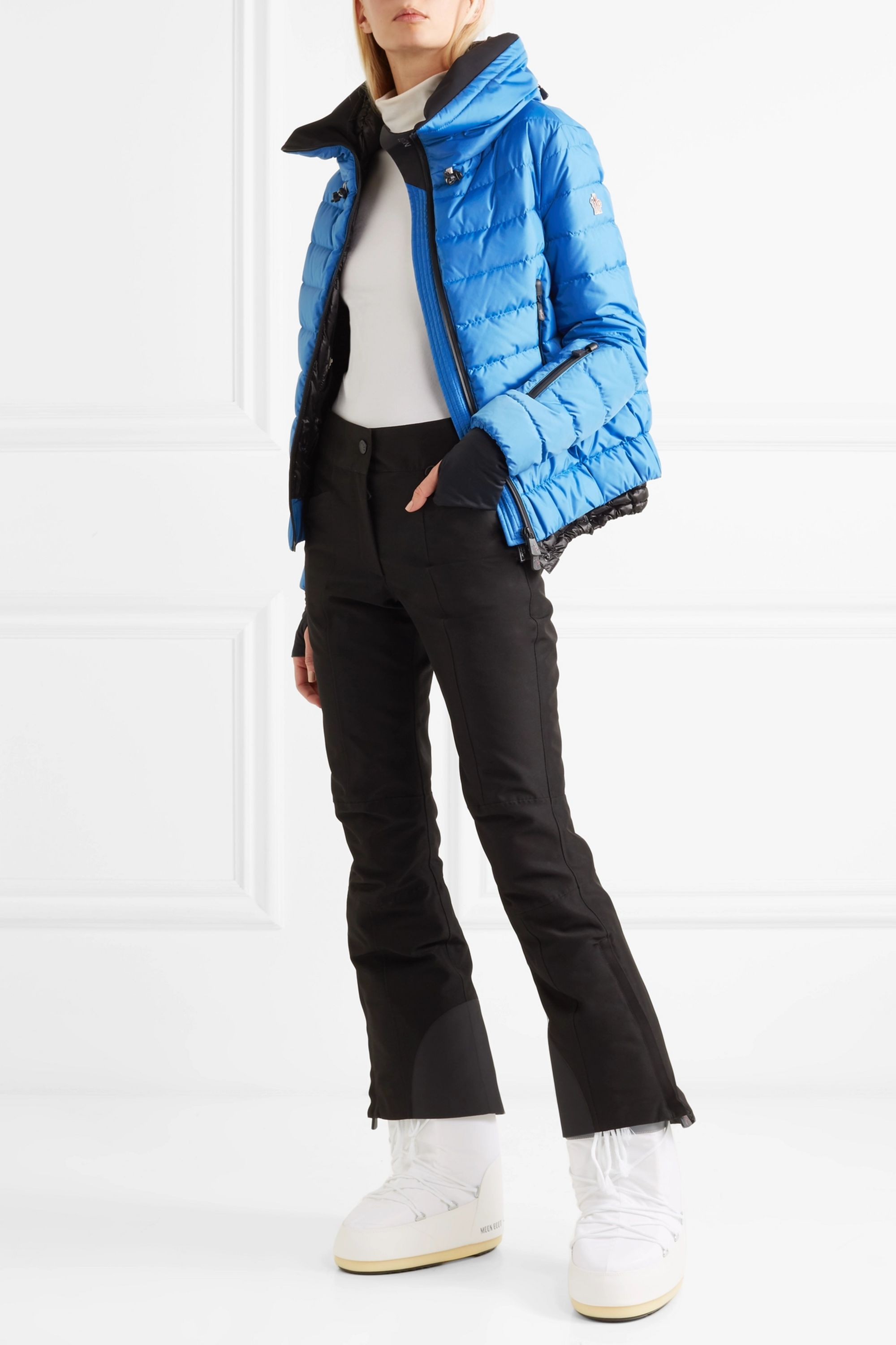 Moncler Grenoble Vonne quilted shell down jacket