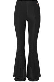 Flared stretch ski pants