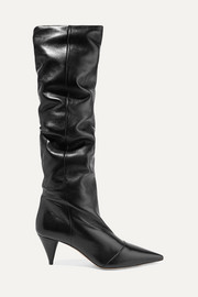 Miu Miu Leather knee boots