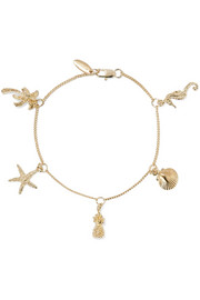 Tropical Charm gold-plated bracelet