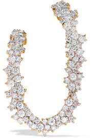 Izabel 18-karat gold diamond earring