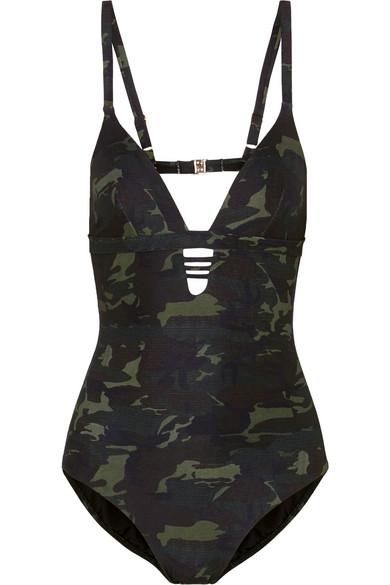 Melissa Odabash Amazon Badeanzug mit Camouflage-Print Liefern Billige Online tJLT6J