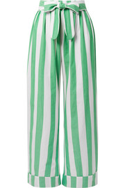 Mara Hoffman Sasha striped organic cotton pants