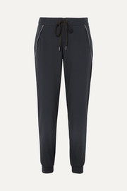 Erin stretch-knit track pants
