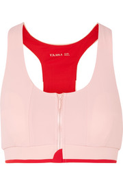 Vaara Cloe two-tone stretch-knit sports bra