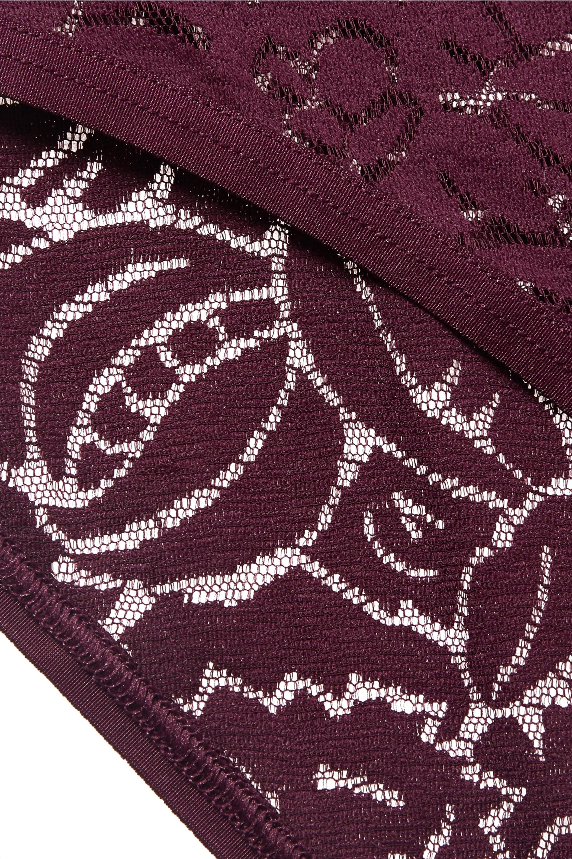 Eres Somptuous stretch-Leavers lace bodysuit