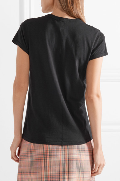 rag & bone The Tee T-Shirt aus Baumwoll-Jersey