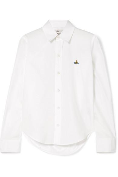 Pianist Cotton-Poplin Shirt