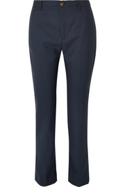 Serge wool straight-leg pants