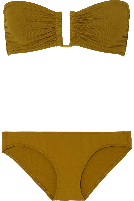 Eres Les Essentiels Scarlett bandeau bikini top