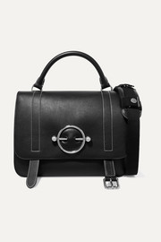 JW Anderson Disc leather and suede shoulder bag