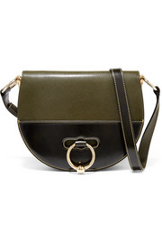 JW Anderson Latch smooth and textured-leather shoulder bag