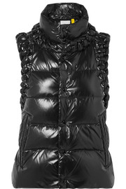 Moncler Genius + 6 Noir Kei Ninomiya whipstitched quilted shell down gilet
