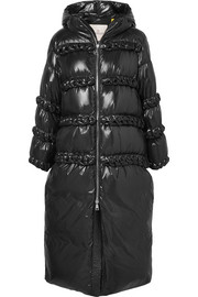 Moncler Genius + 6 Noir Kei Ninomiya whipstitched quilted shell down coat