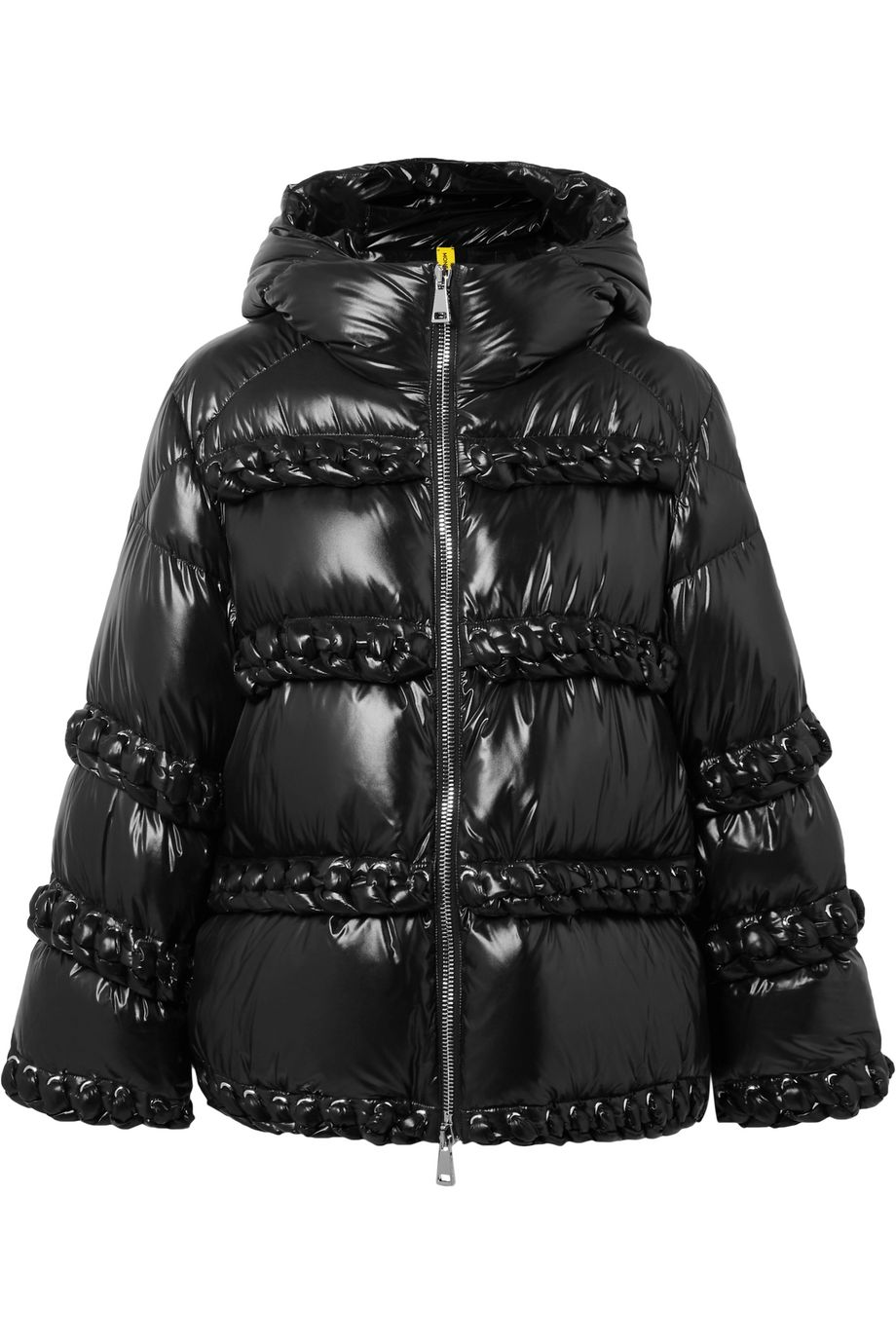 Moncler Genius + 6 Noir Kei Ninomiya whipstitched quilted shell down jacket