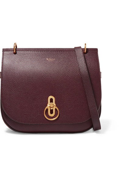 Mulberry   Amberley textured-leather shoulder bag   NET-A-PORTER.COM 96b6f8c639