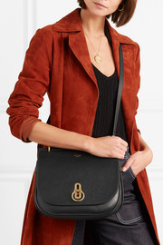 Amberley textured-leather shoulder bag