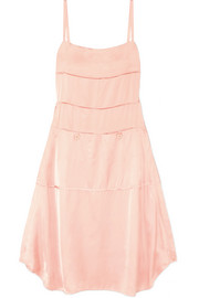 Carven Satin midi dress